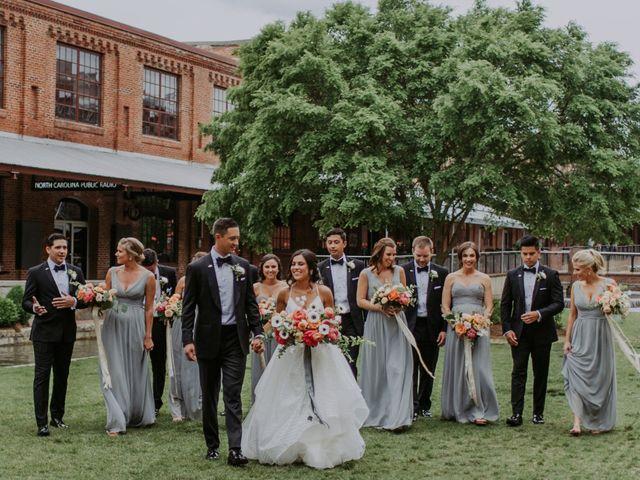 M Montero and Ashley's Wedding in Durham, North Carolina 104