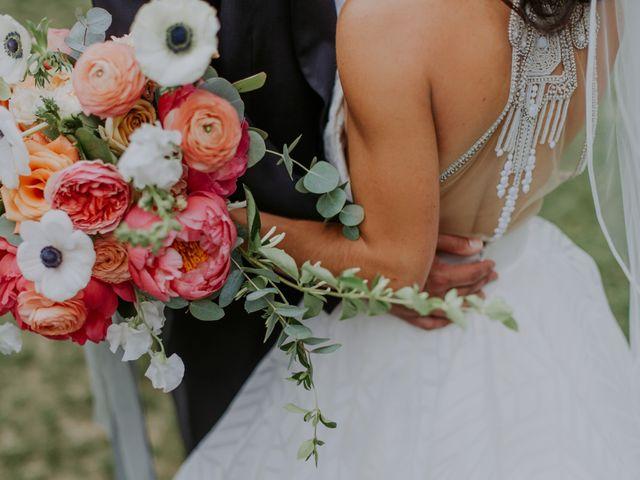 M Montero and Ashley's Wedding in Durham, North Carolina 111