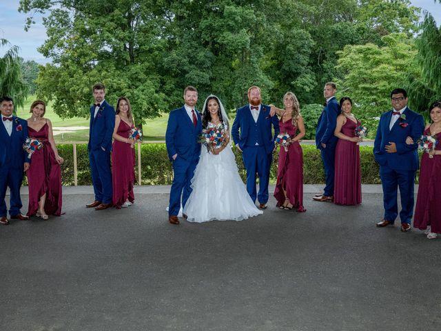 Ryan and Karen's Wedding in Woodbridge, Connecticut 10