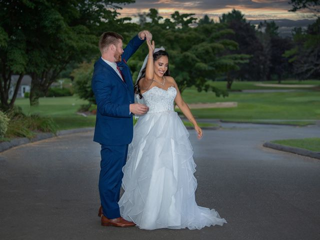 The wedding of Karen and Ryan