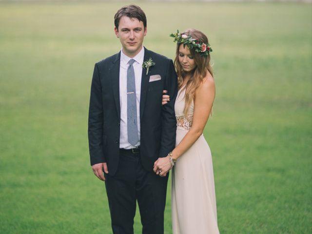 The wedding of Dan and Ashley