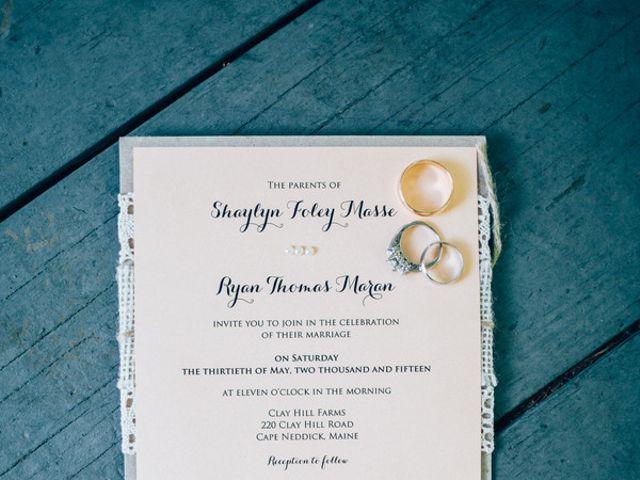 Shaylyn and Ryan's Wedding in York, Maine 1