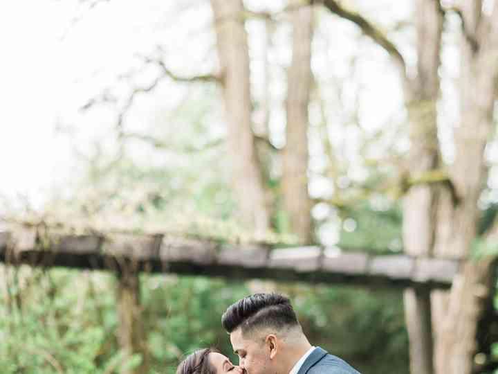 The wedding of Josh and Belinda