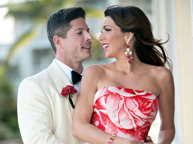 The wedding of Christopher and Melissa