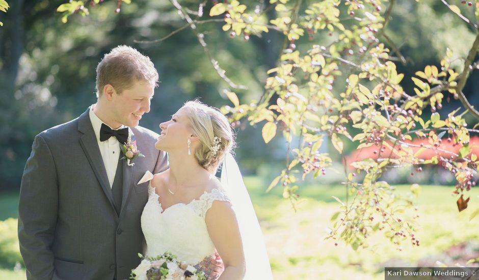 Lauren and Leif's Wedding in Midland, Michigan