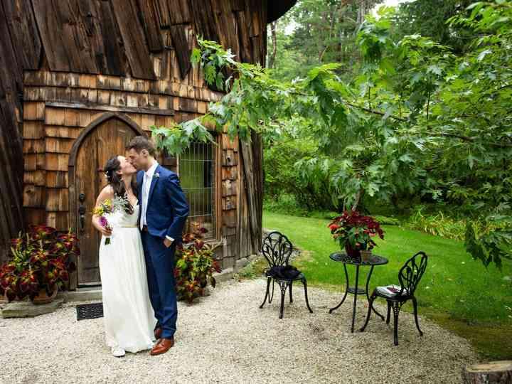 The wedding of Emily and Matt