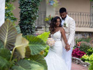 The wedding of Dany and Rihanna