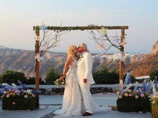 The wedding of Eleni and Richard