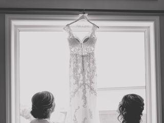 The wedding of David and Katie 1