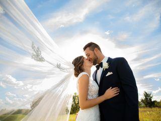 The wedding of David and Katie