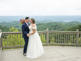 The wedding of Erin and Ricky