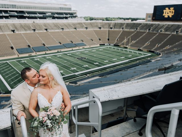 Jay and Monica's Wedding in South Bend, Indiana 5