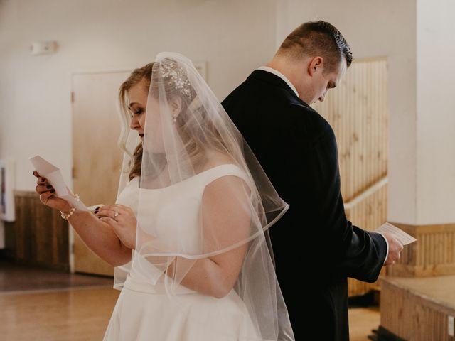 Alex and Kayla's Wedding in Glenwood, Minnesota 10