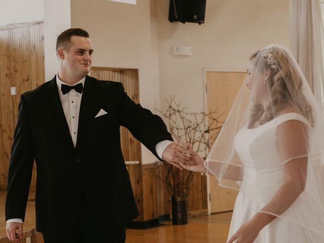 Alex and Kayla's Wedding in Glenwood, Minnesota 13