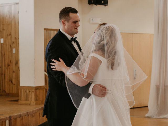 Alex and Kayla's Wedding in Glenwood, Minnesota 16