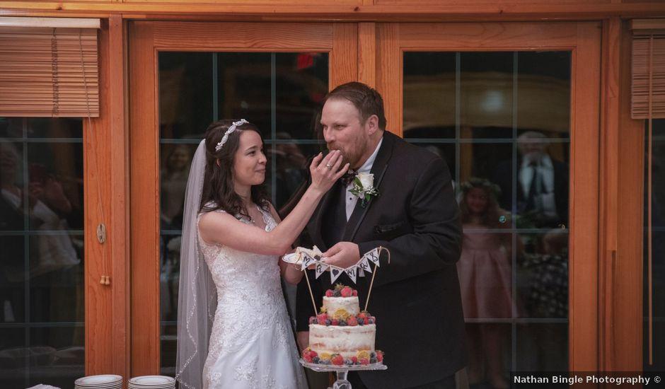 Elissa and Shonn's Wedding in Moravian Falls, North Carolina