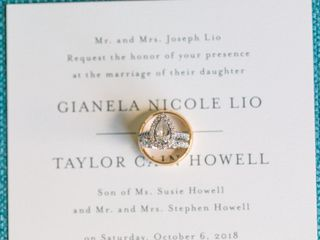 The wedding of Gianela and Taylor 1