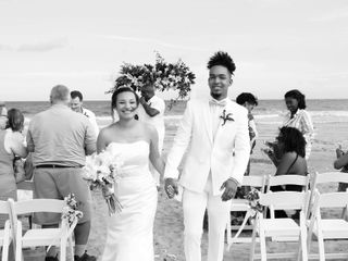 Marqueece and Mikayla's Wedding in Folly Beach, South Carolina 3