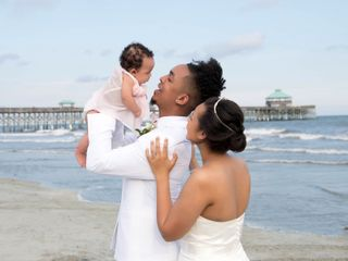 Marqueece and Mikayla's Wedding in Folly Beach, South Carolina 9