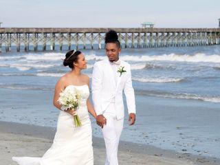 Marqueece and Mikayla's Wedding in Folly Beach, South Carolina 13