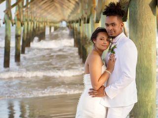 Marqueece and Mikayla's Wedding in Folly Beach, South Carolina 19