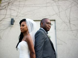 The wedding of Stephanie and Lemarr