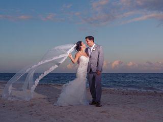 The wedding of Marinela and Michael