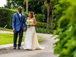 The wedding of Errol and Gilma