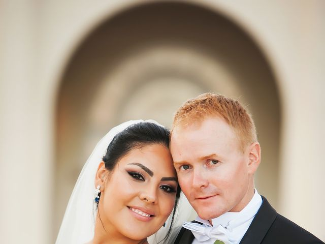 The wedding of James and Gabriela
