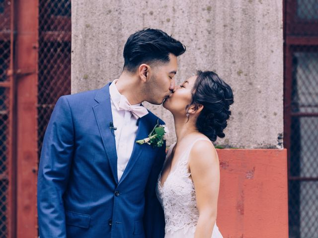 The wedding of Gina and Main