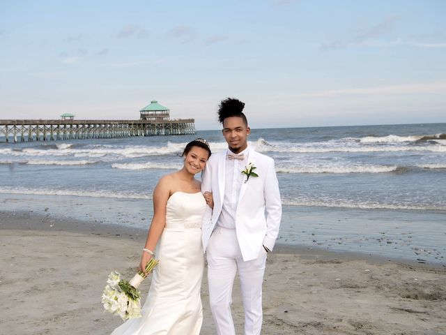 Marqueece and Mikayla's Wedding in Folly Beach, South Carolina 10
