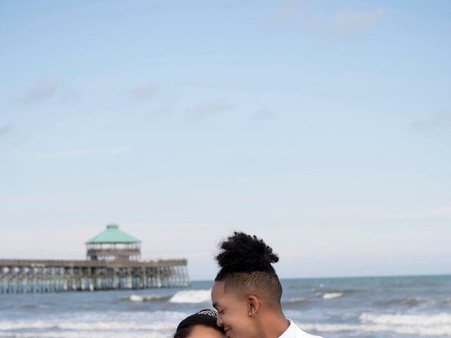 Marqueece and Mikayla's Wedding in Folly Beach, South Carolina 11