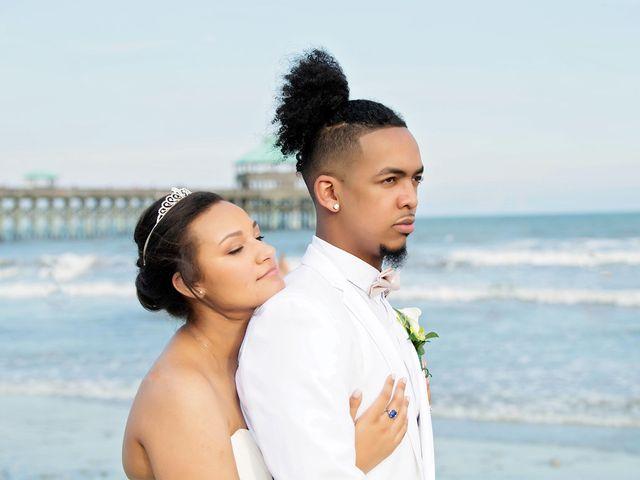 Marqueece and Mikayla's Wedding in Folly Beach, South Carolina 12