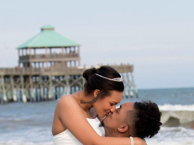 Marqueece and Mikayla's Wedding in Folly Beach, South Carolina 14