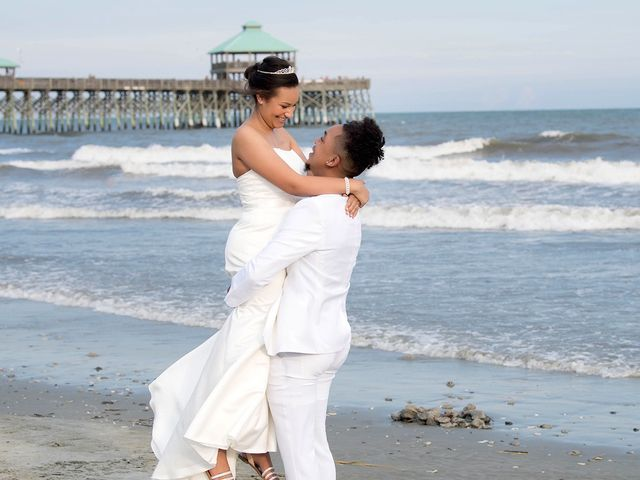 Marqueece and Mikayla's Wedding in Folly Beach, South Carolina 15
