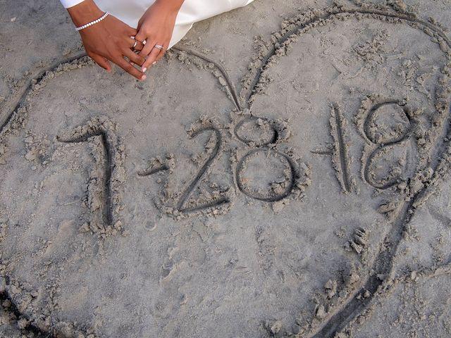 Marqueece and Mikayla's Wedding in Folly Beach, South Carolina 17