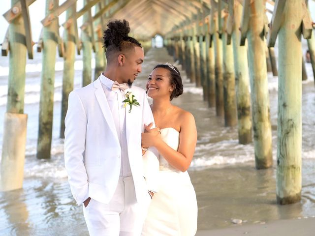 The wedding of Mikayla and Marqueece