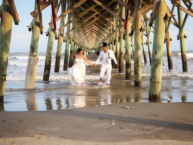 Marqueece and Mikayla's Wedding in Folly Beach, South Carolina 20