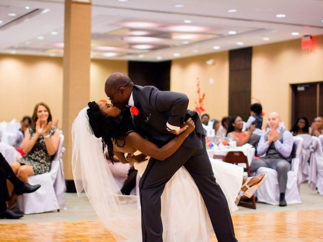 Lemarr and Stephanie's Wedding in Glen Ellyn, Illinois 2