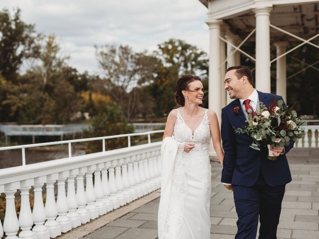 The wedding of Christiane and Christopher