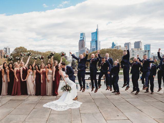 Christopher and Christiane's Wedding in Philadelphia, Pennsylvania 75