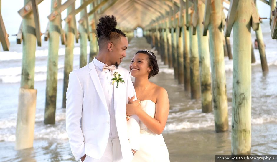 Marqueece and Mikayla's Wedding in Folly Beach, South Carolina