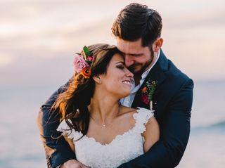 The wedding of Kim and Raitis