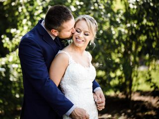 The wedding of Liz and Andrew
