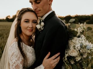 The wedding of Ethan and Brittani