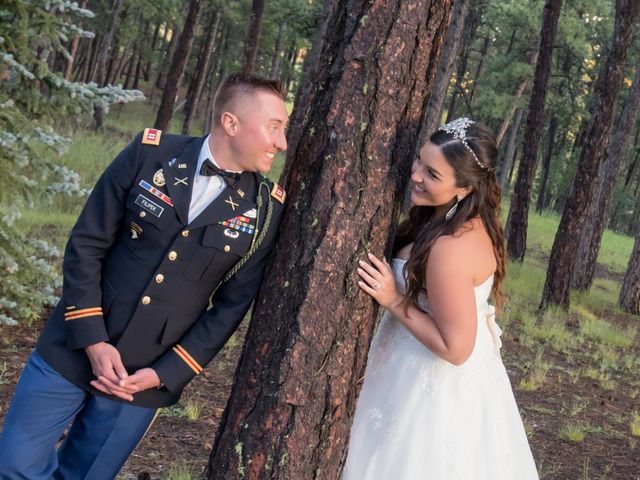 The wedding of Caley and Erik
