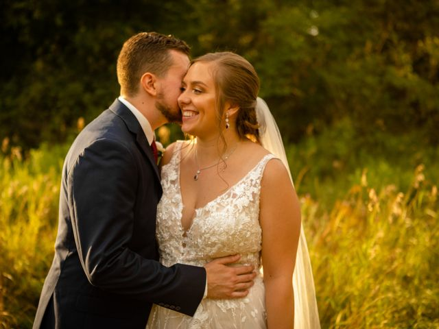 The wedding of Haylie and Trevor