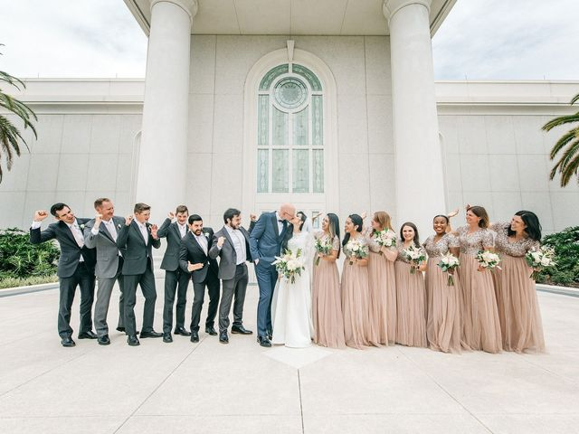 Mark and Kristin's Wedding in Windermere, Florida 13