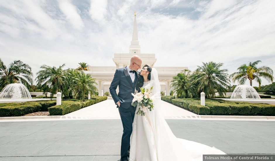 Mark and Kristin's Wedding in Windermere, Florida