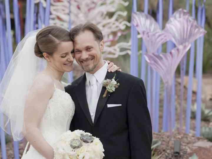 The wedding of Evan and Jennifer